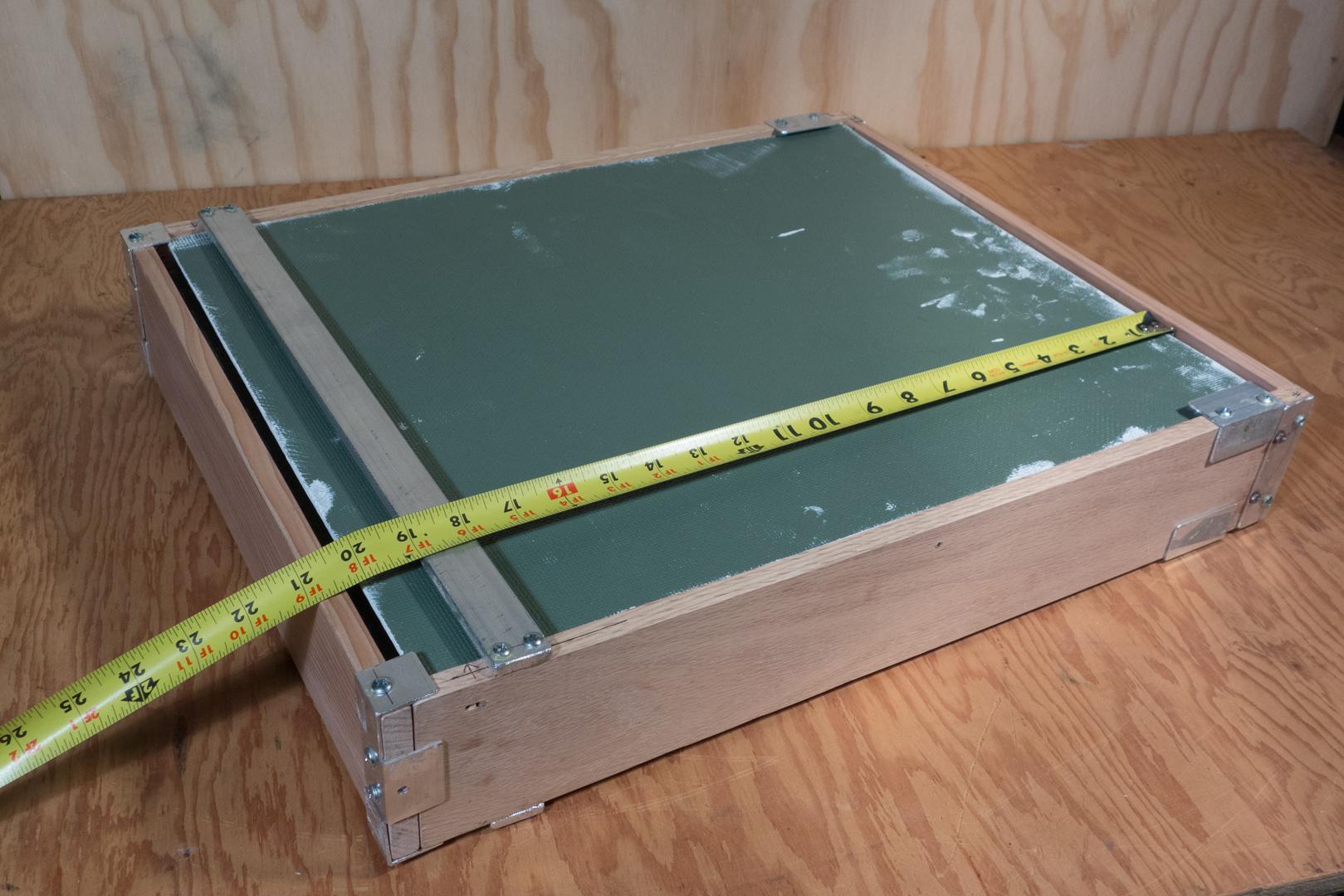 wet canvas carrier 16 x 20