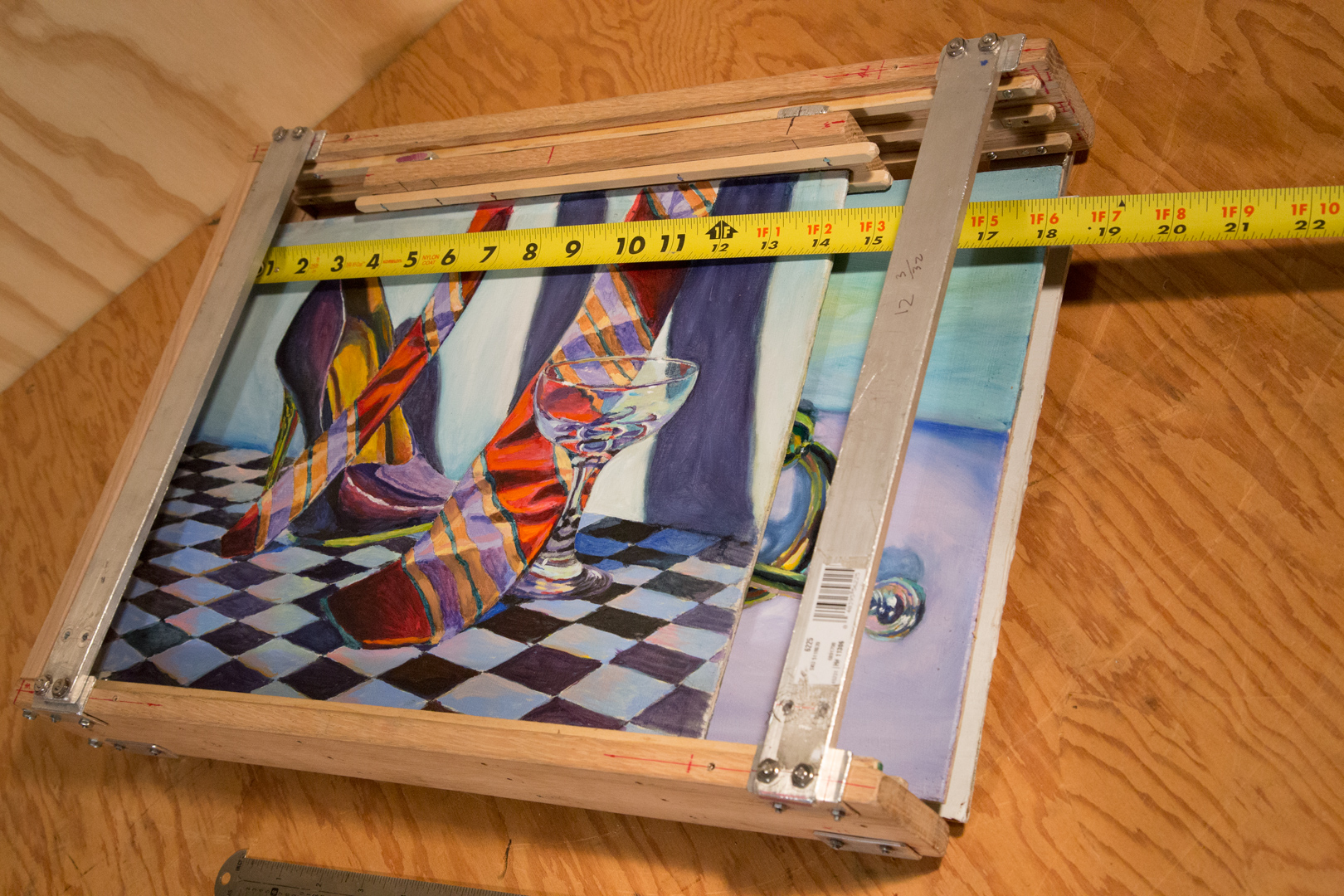 wet canvas carrier 12 x 16