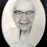 My pencil drawing from Grandmas photo