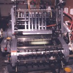 KORD at J&D Printing. I spent more years running KORDs than anything else. Love that old press!