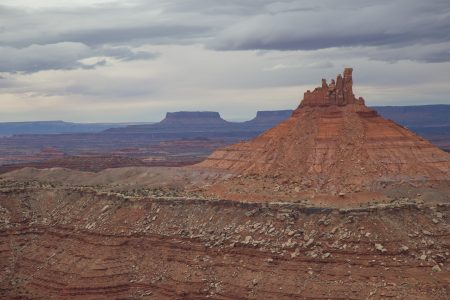 North Six Shooter, from summit of South Six Shooter.