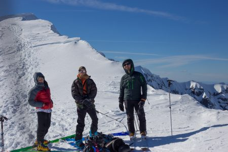Summit shot, me, Craig & Clint